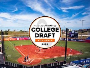 Field with draft logo.